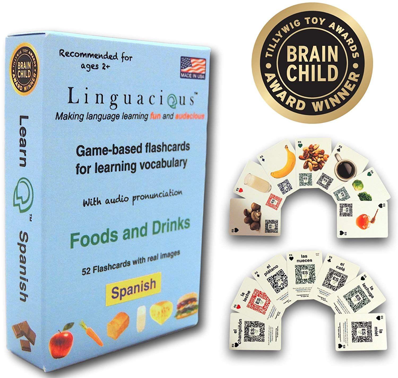 Linguacious Award-Winning Spanish Foods And Drinks