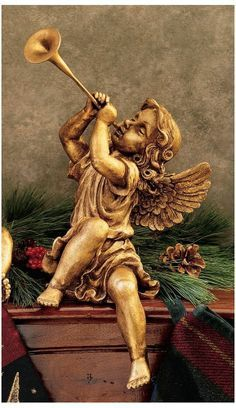 baby angel playing trumpet - Google Search