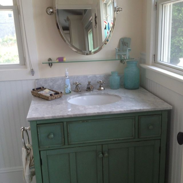 Beach Colors For Bathroom Like The Cabinet Finish And Color Half Bath