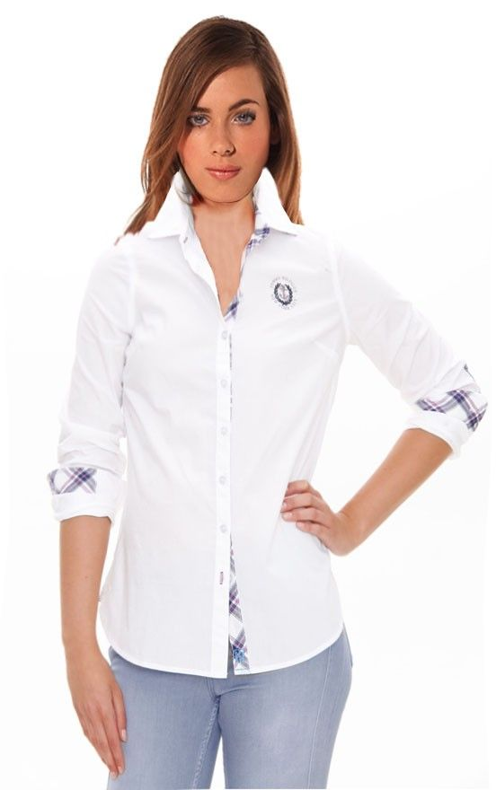 d3fc9a2d179 Camisa Tommy Hilfiger Mujer TIPPER COMBO
