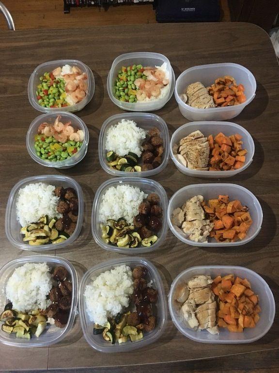Meal 1 Shrimp Edamame And Rice 426 Calories Per Serving Meal 2