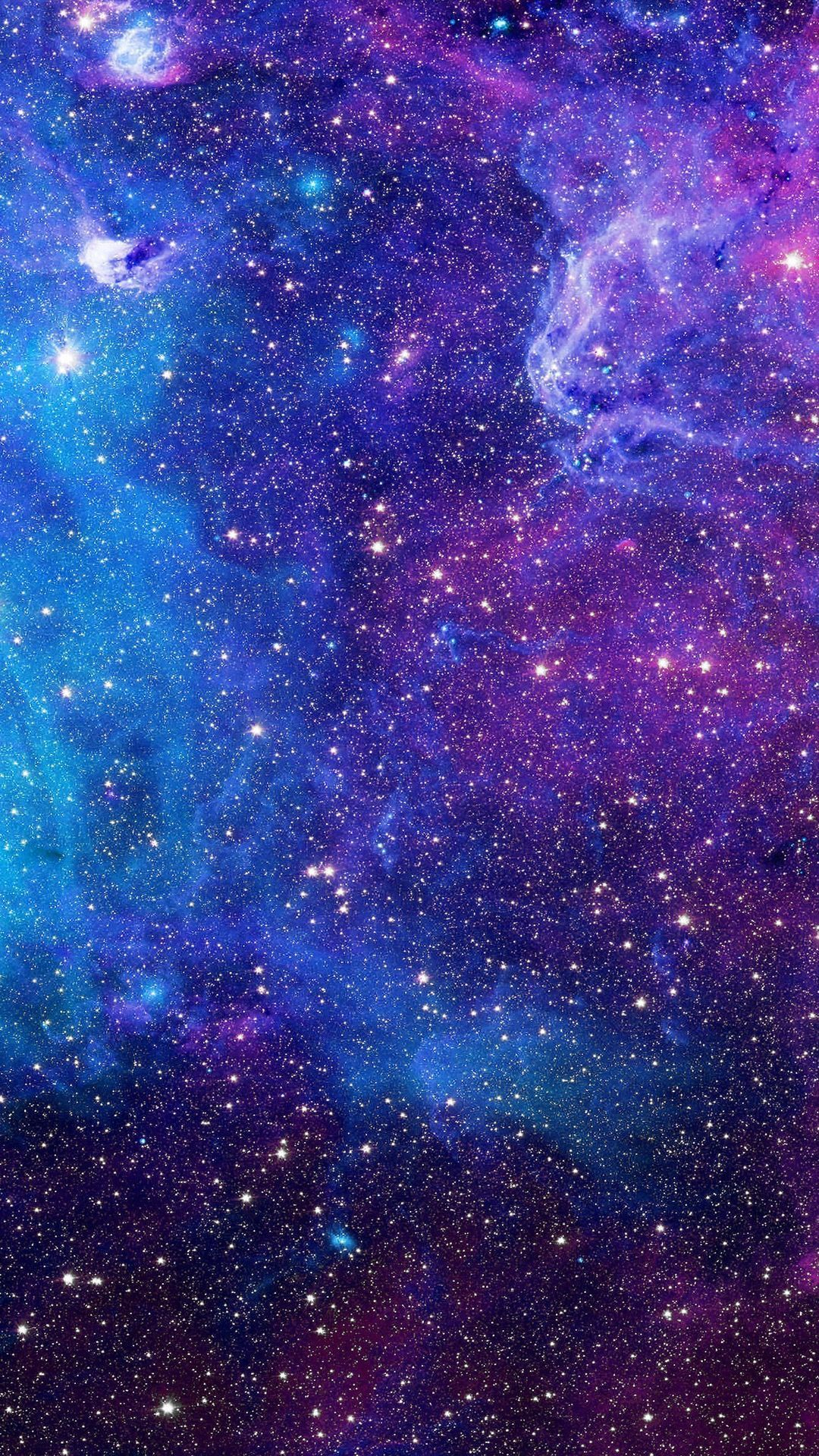 Blue Universe Hd Wallpaper Android In 2020 Purple Galaxy Wallpaper Galaxies Wallpaper Blue Wallpaper Iphone