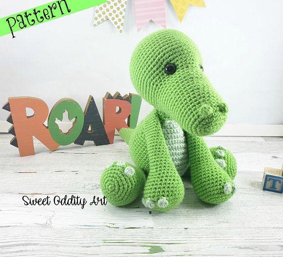 Crocodile Crochet Pattern Crochet Pattern Crochet Crocodile