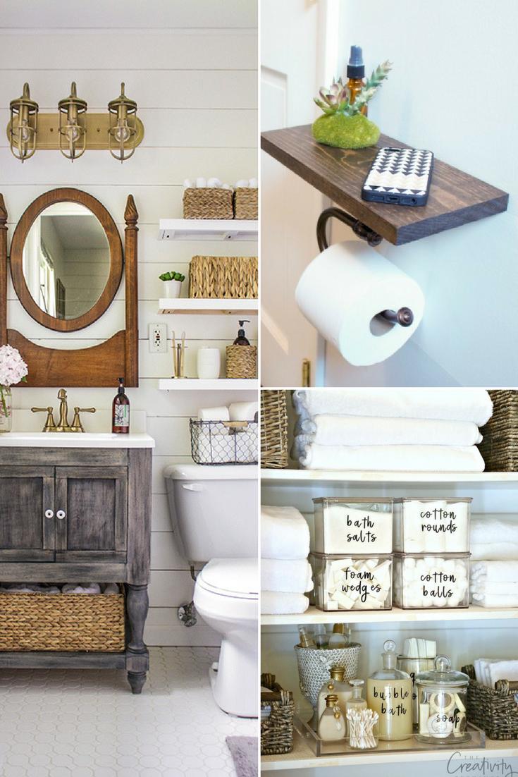 10 Small Bathroom Storage and Organization Ideas | Organization ...