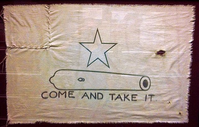 Flag Come And Take It Come And Take It Republic Of Texas Texas Revolution