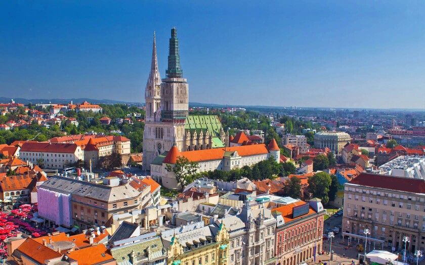 Zagreb Croatian Capital Hrvatska Cities In Europe Croatia Travel Romantic Destinations