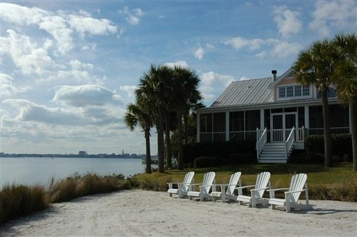 Relax On The Beach At The Cottages On Charleston Harbor In Mt Pleasant Sc Vacation Spots Tropical Mount Pleasant South Carolina Luxury Vacation Rentals