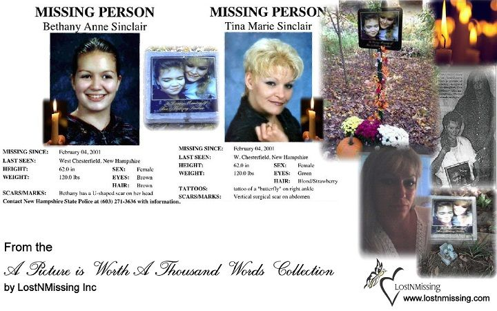 A Picture Worth A Thousand Words - Missing - Tina and Bethany ...