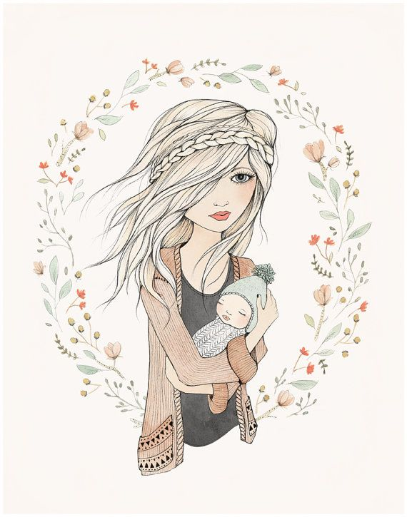 MOTHER'S LOVE print by Kelli Murray