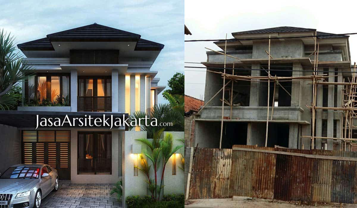 Project Rumah 2 Lantai Gaya Minimalis Bali Modern Home