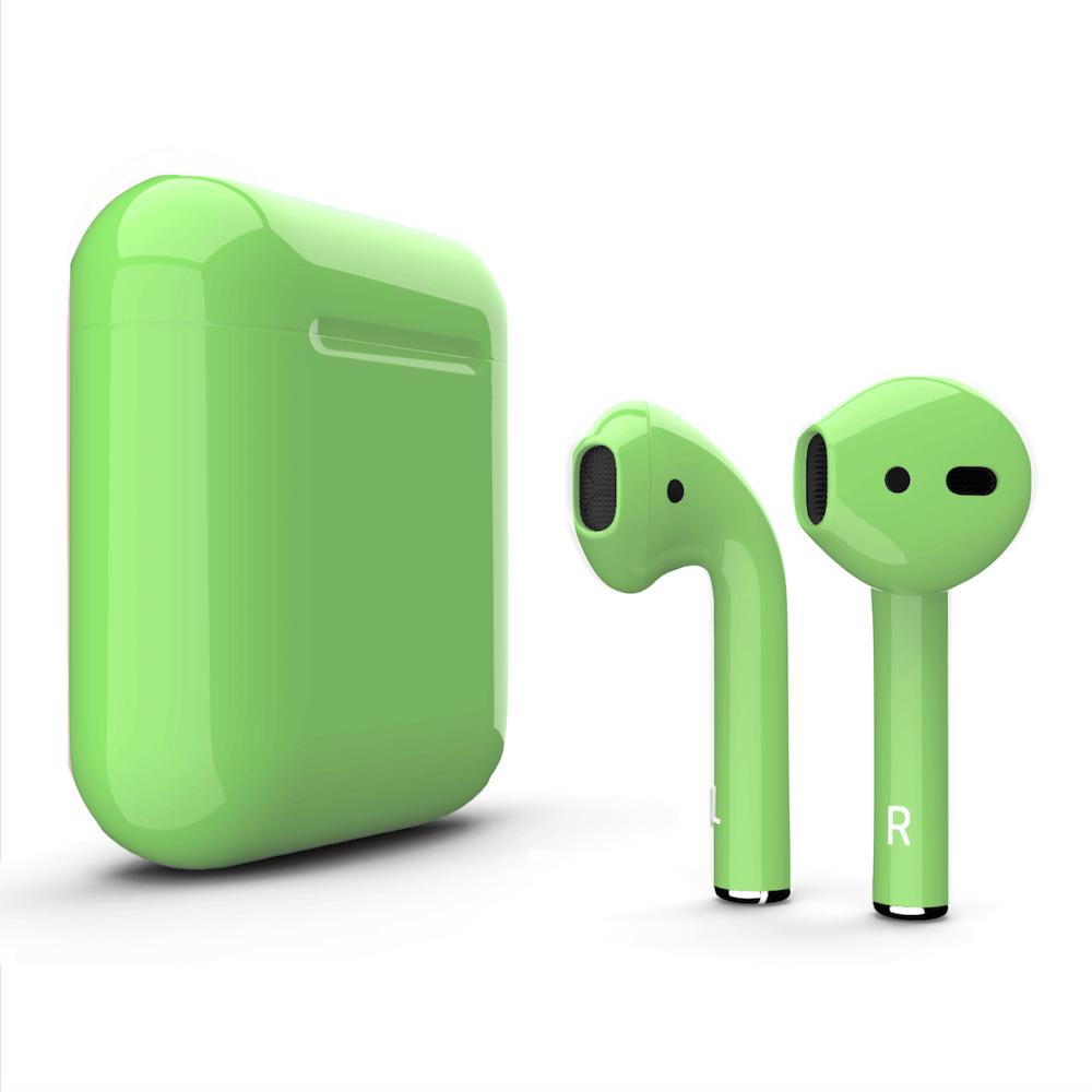 Green Wireless Airpod Bluetooth Candypod 5 0 Wireless Bluetooth Apple Headphone Headphones