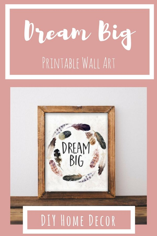 Printable Art Wanderlust || Home decor printable wall art || Boho ...
