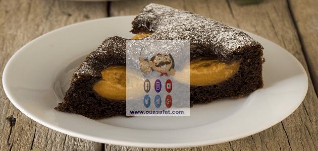 كيك المشمش والشوكولاطة Chocolate Cake Desserts Food