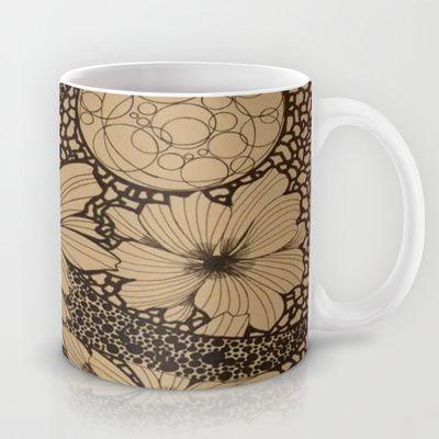 Black or White Mug by fawnadine - $15.00