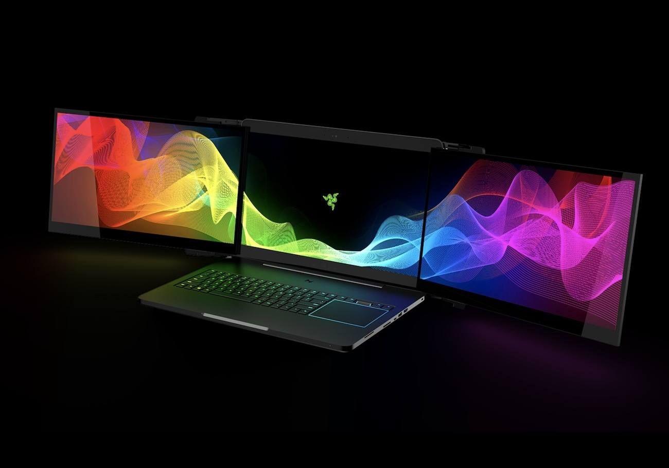No matter where you go, you can now carry a 12K desktop setup with you.