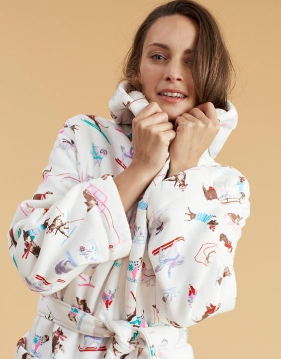 IDLEWHILE Fleece-Lined Dressing Gown | Christmas Stuff | Pinterest ...