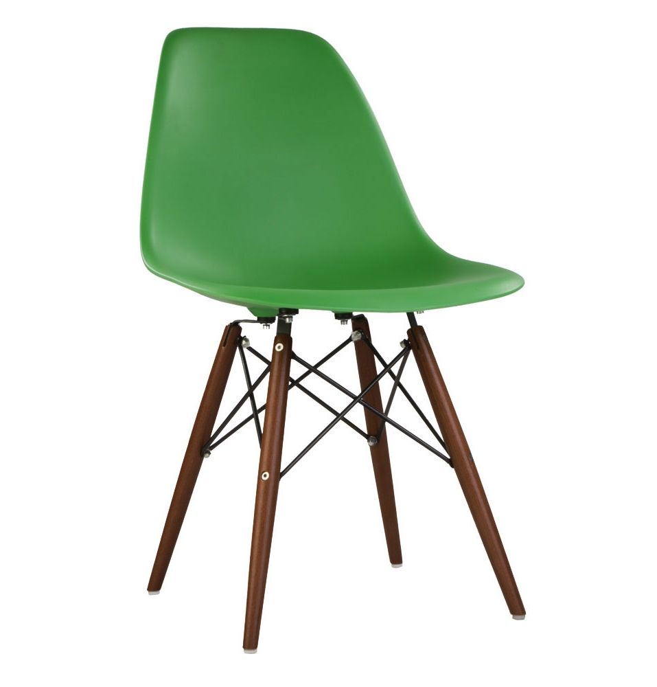 The Matt Blatt Replica Eames DSW Side Chair   Plastic By Charles And Ray  Eames