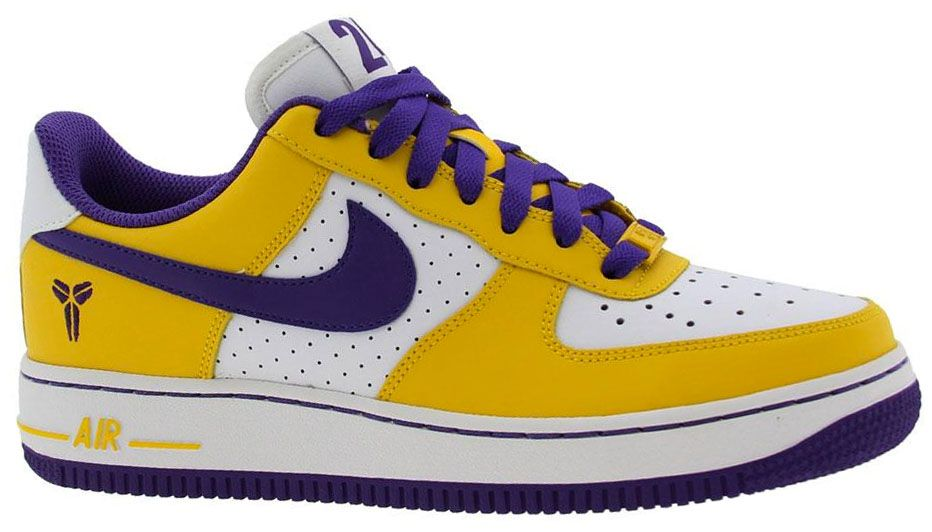 new styles 4663f eb87b Nike Air Force 1 GS Kobe Bryant