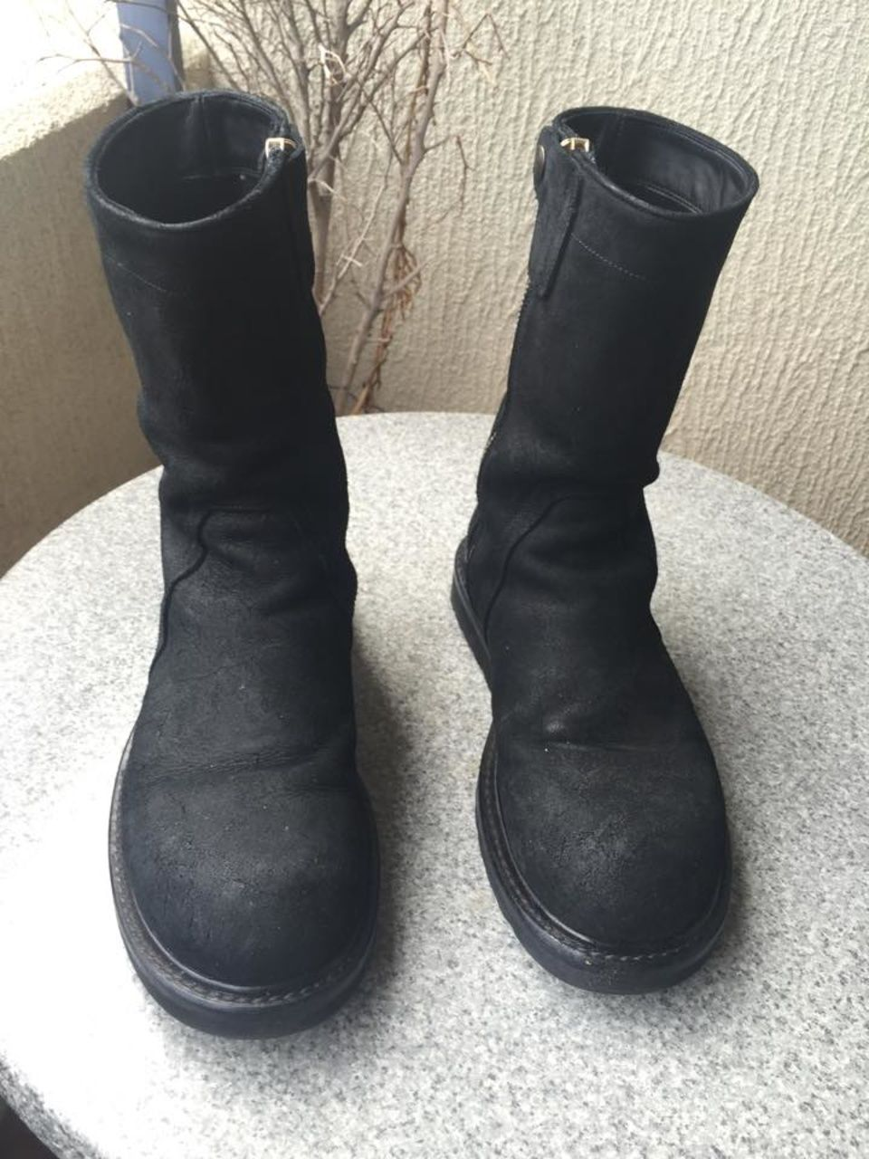 5d59c5c34c1 Rick Owens Creeper Boots Size 9  700 - Grailed