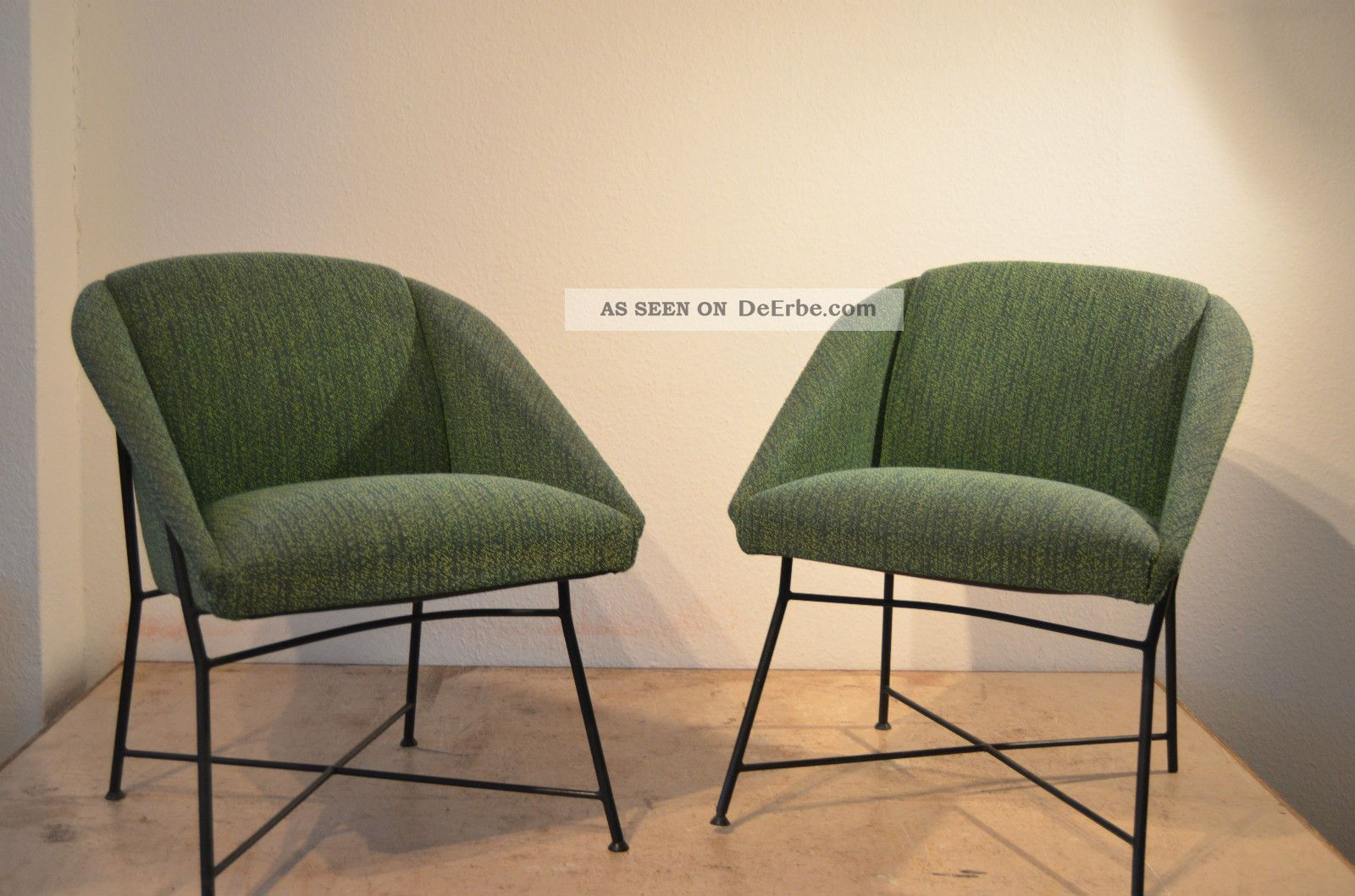 Beautiful Augusto Bozzi Lounge Chairs Sessel 50er Saporiti Design Knoll Eames Cassina  1950 1959 Bild Awesome Ideas