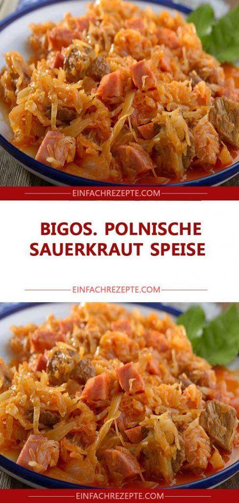 Photo of Bigos. Polish sauerkraut dish 😍 😍 😍