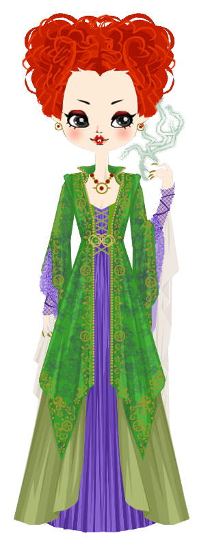 Winifred Sanderson from Hocus Pocus by marasop on ...