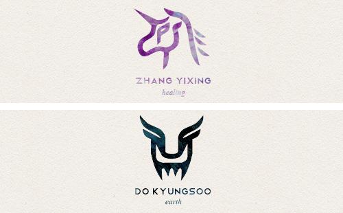Yixing + Kyungsoo Healing + Earth - fanart