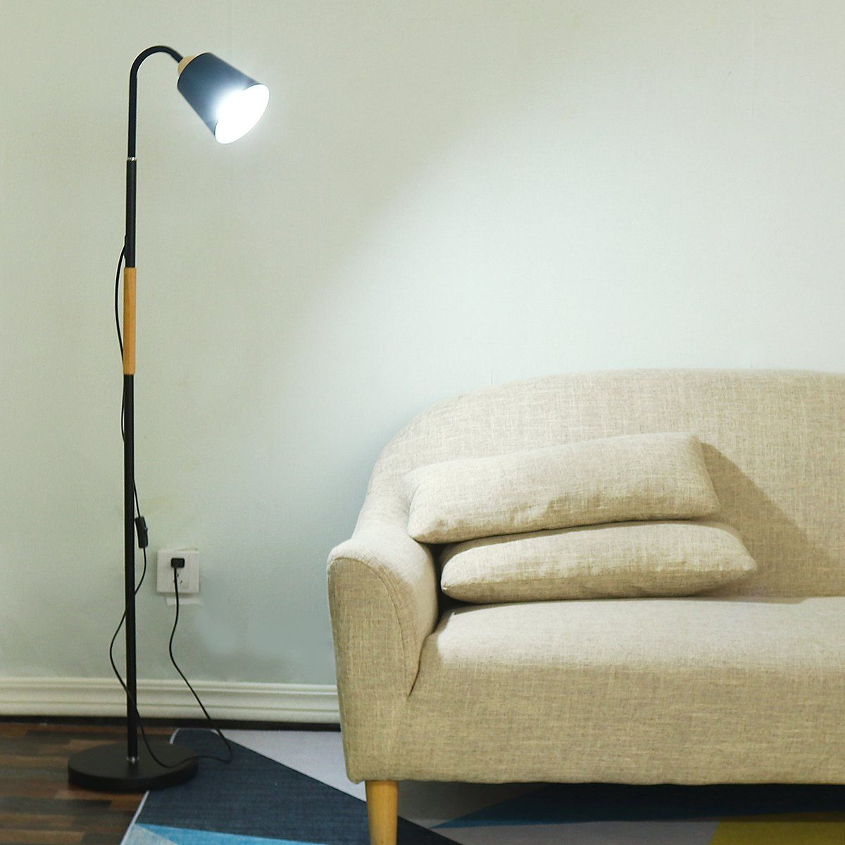 Led Floor Light Lamp Reading, Reading Floor Lamps For Living Room