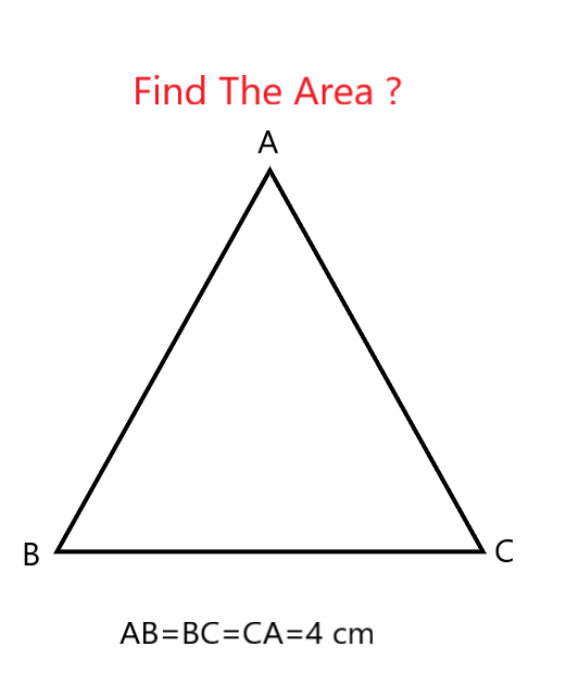 Area Of Equilateral Triangle Area And Perimeter Perimeter Of Triangle Maths Puzzles
