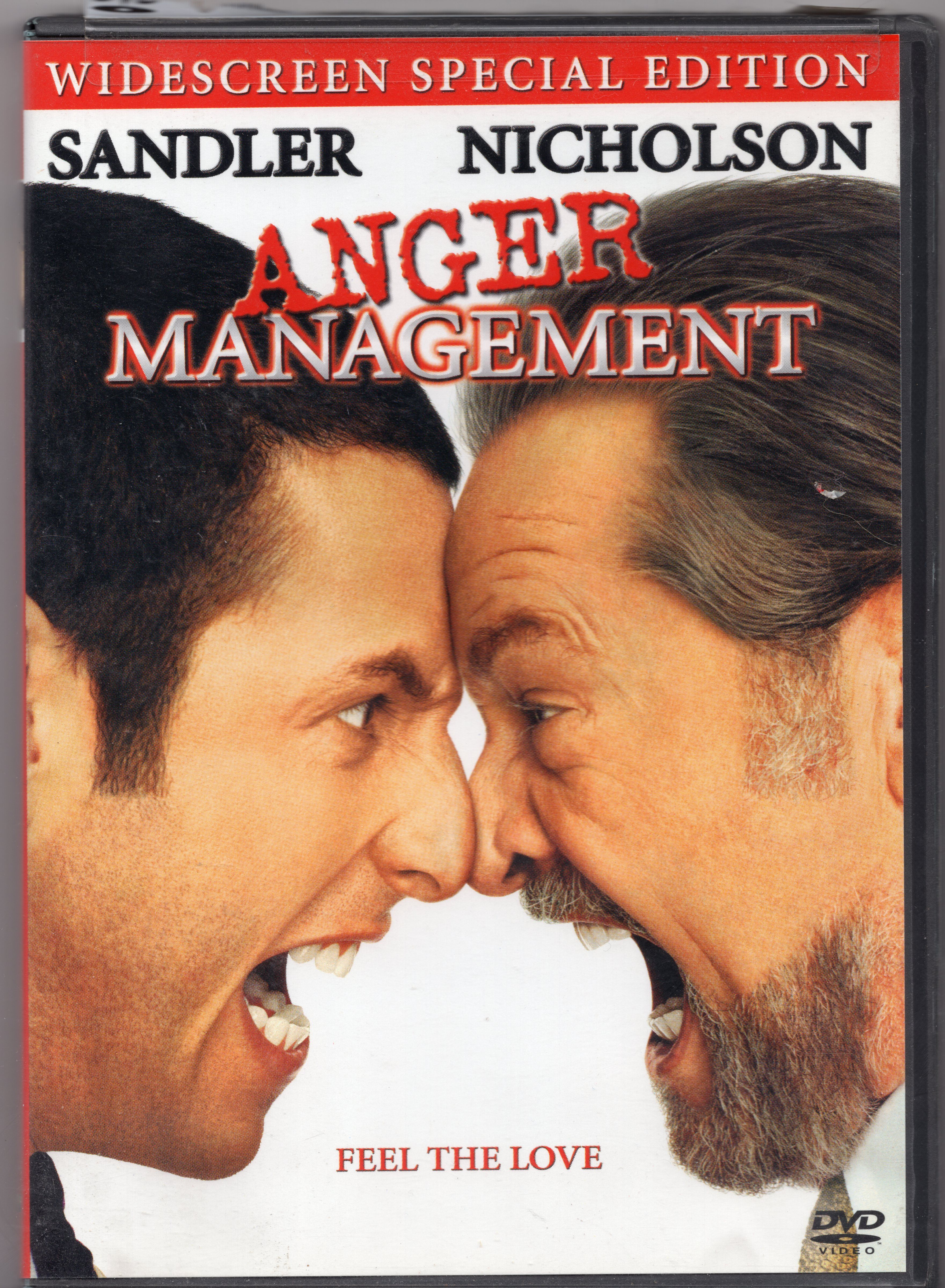 For Sale Anger Management Widescreen Edition Mo31 Webstore Anger Management Anger Adam Sandler