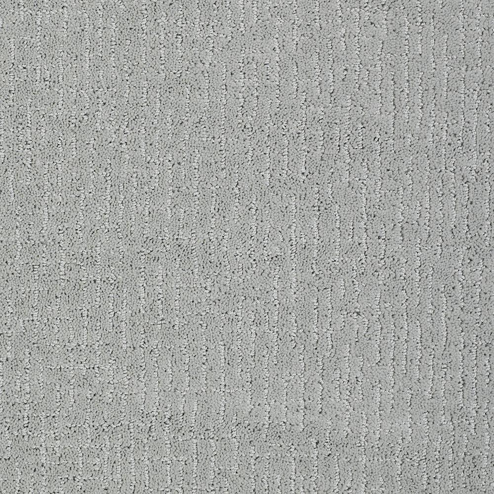 Lifeproof Latice Color Flint Rock Pattern 12 Ft Carpet