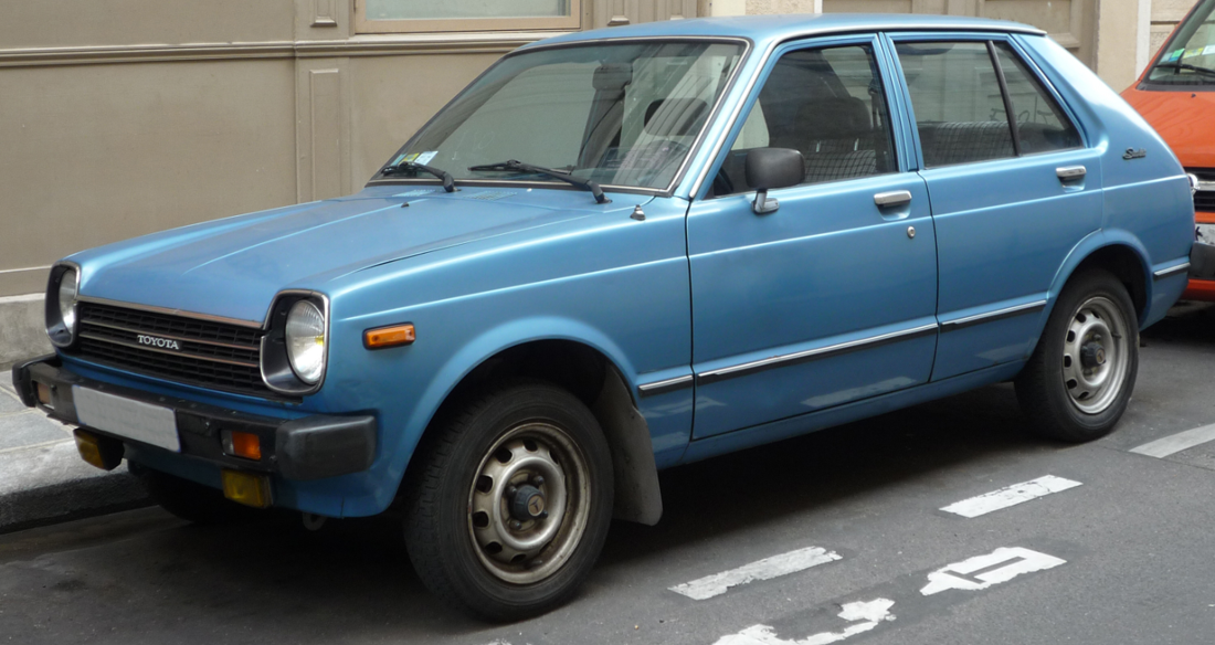 Ma première voiture: Toyota Starlet 1978 | voiture | Pinterest ...
