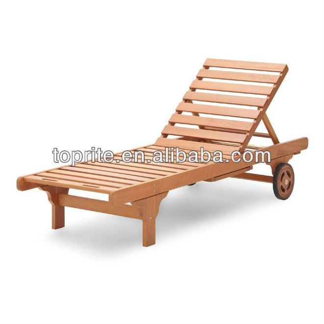 Outdoor Chaise Lounge Chairs With Wheels Contemporary Dining Room Uk Beach Chair Reclining Wooden