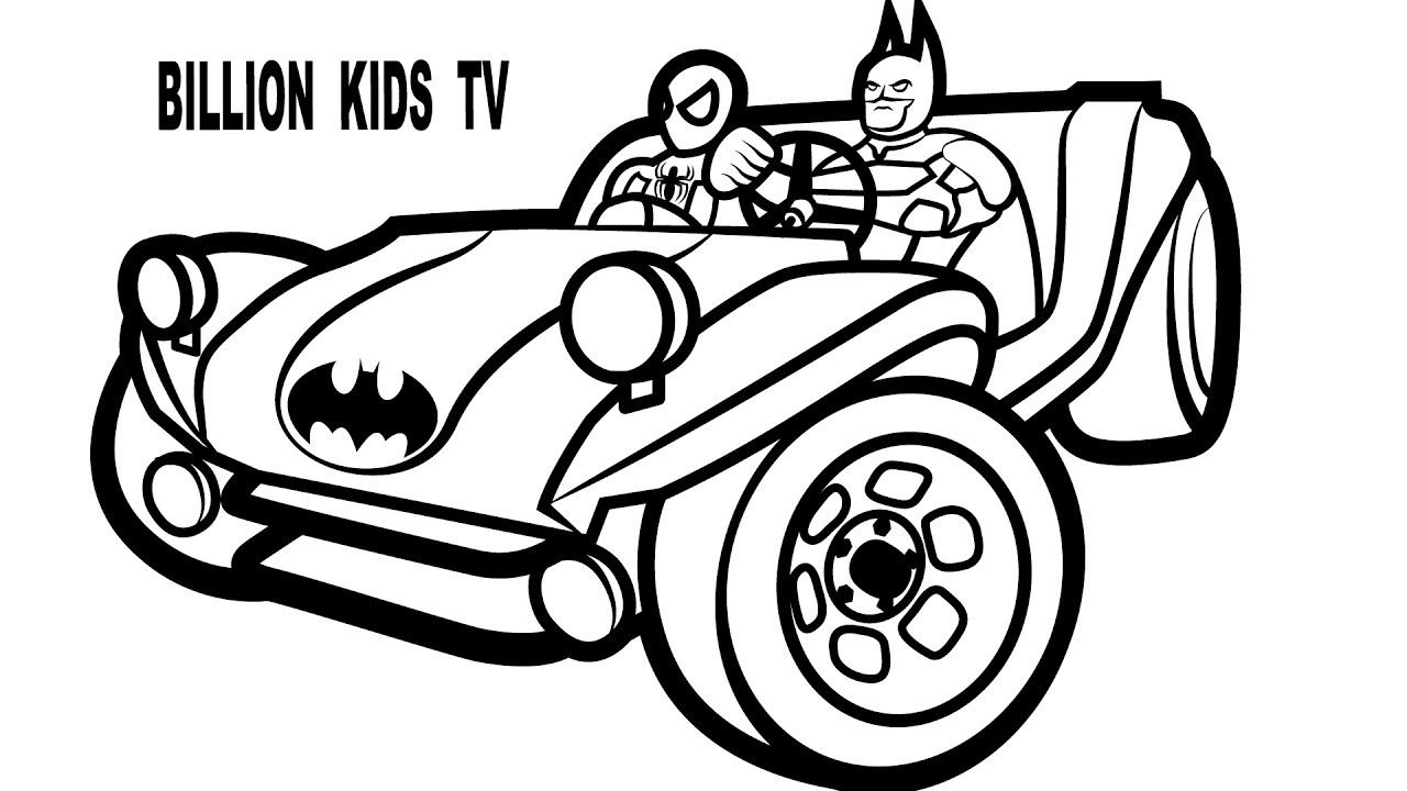 Batman Car Coloring Pages Cars Coloring Pages Batman Coloring Pages Batman Car