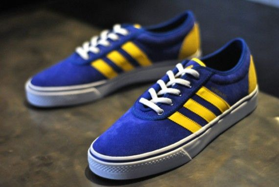 super popular 6be01 0cc25 Mark Gonzales x adidas Skateboarding Adi-Ease Royal BlueYellow