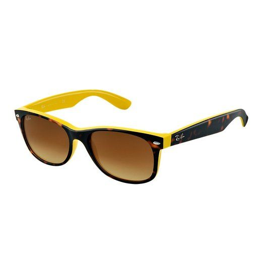 Amazon Com Ray Ban Rb2132 New Wayfarer Sunglasses Black Frame G