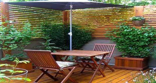 7 déco terrasses aménagées avec de la verdure | Terrasses ...