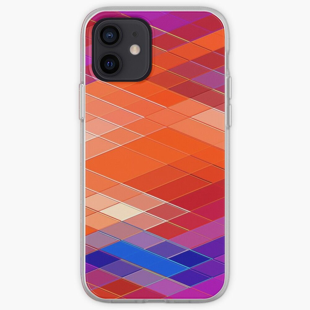 Re Created Vertices No. 21 by Robert S. Lee iPhone Case & Cover by ...