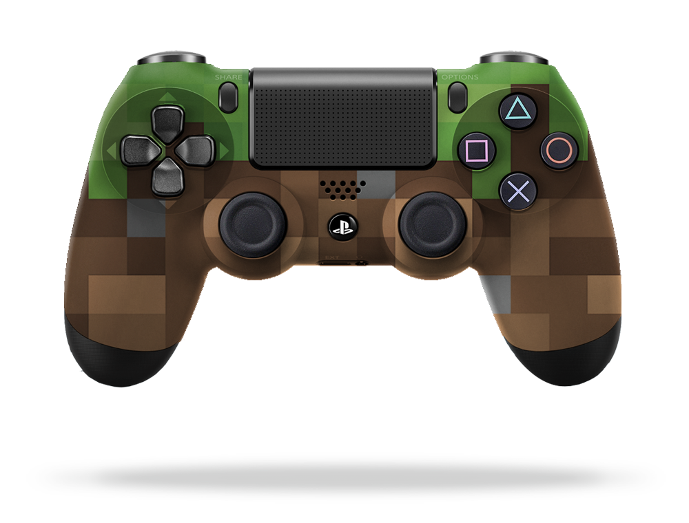 Xbox Controller Skin Template minecraft custom contr...