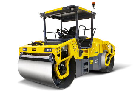 Sixth generation of Dynapac large asphalt rollers takes