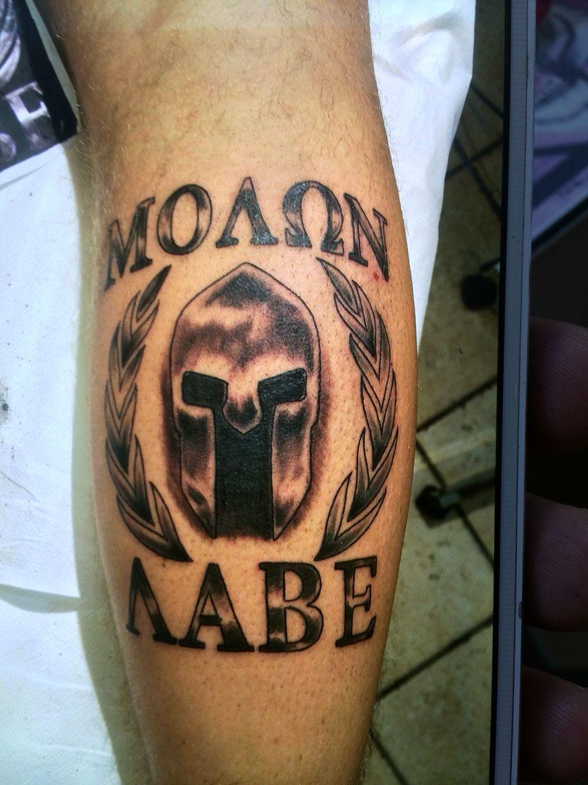 molon labe tattoo tattos pinterest molon labe spartan tattoo and tattoo. Black Bedroom Furniture Sets. Home Design Ideas