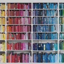 Biblioteca-colorido Conhecimento | Mr Perswall COM