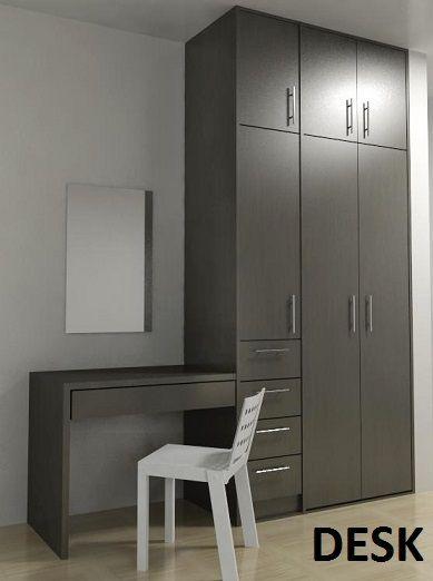 Closets modernos de madera muebles macal cocinas y for Muebles de madera modernos