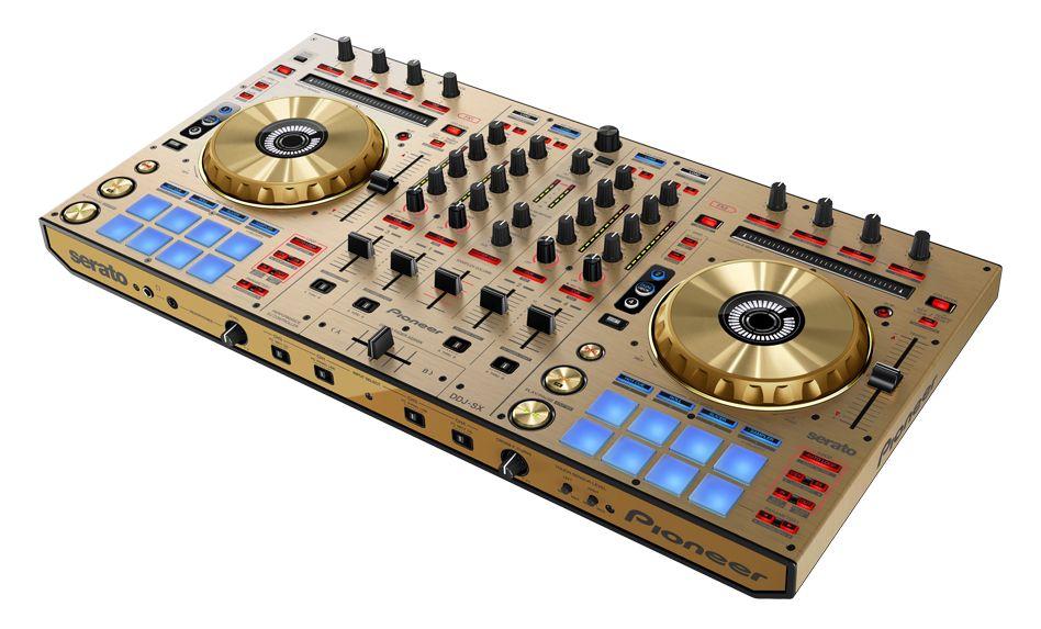 Pioneer DDJ-SX Limited Gold Edition