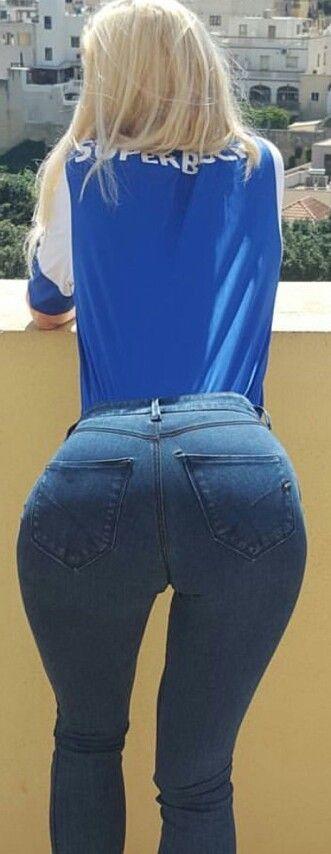 Tight Ass In Tight Jeans Assinjeans Tightjeans Jeans Nice Bottom Chavas Guapas Moda Curvas