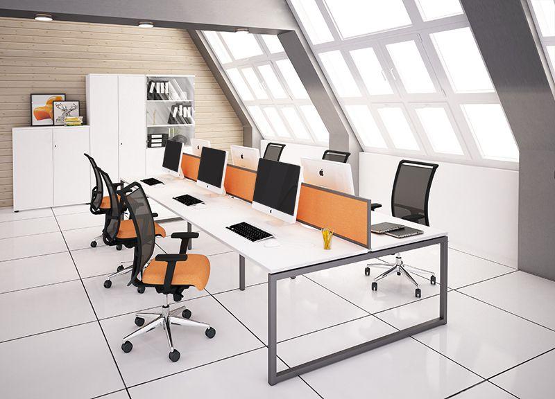 Office Desking Nova O Desks And Benches Narbutas Office Desk Desk Single Desk
