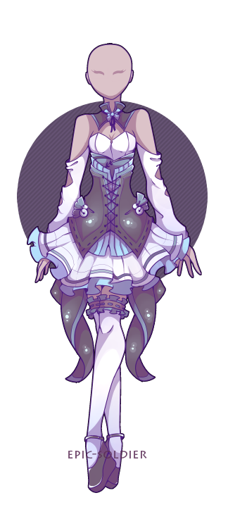 A custom outfit commission for azulann Thank you for commissioning meInterested in getting your own custom weapon?You can find out morehere. Some other of my adopts.