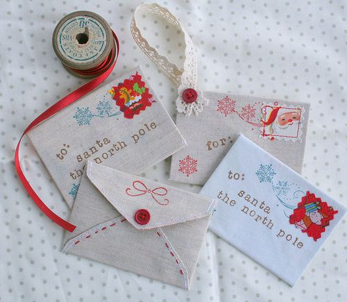 Letters to Santa Ornaments - but put their real letters to Santa in them! :)