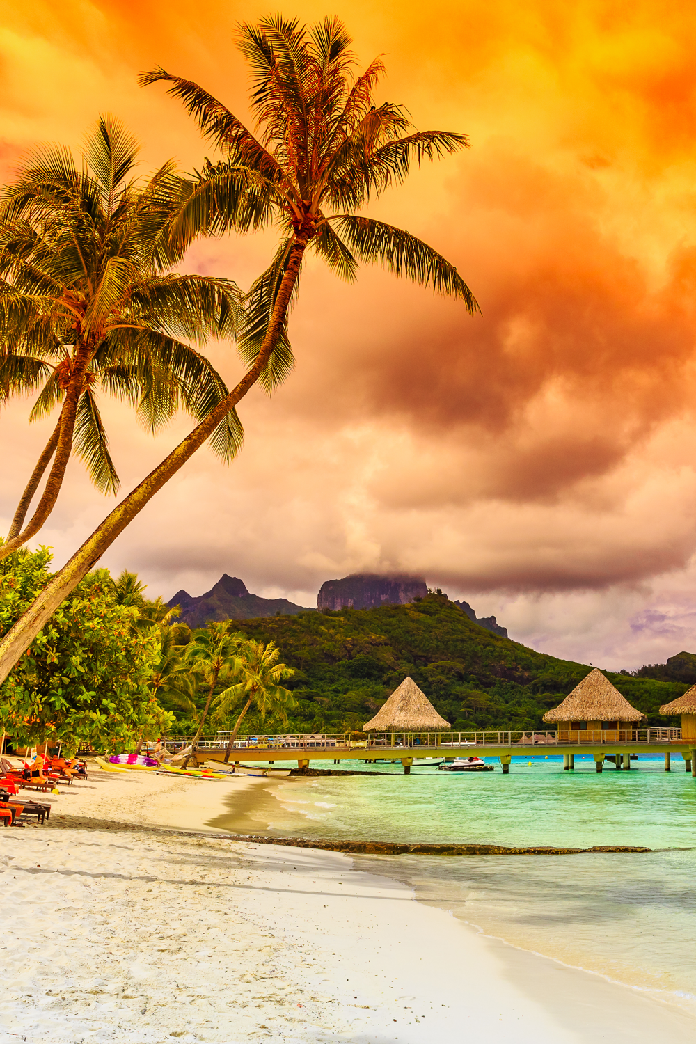 Stunning Bora Beach Scenery And Facts I Totally Love These Photos Bungalows Beaches Are Amazing Can Just Stare At