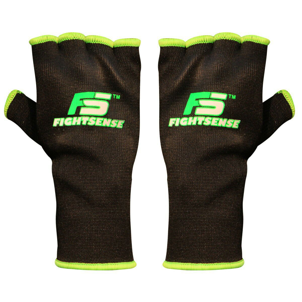 FS Boxing Fist Hand Inner Gloves Bandages MMA Muay Thai Protective Wraps Green